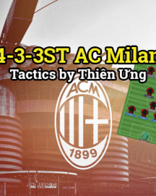 4-3-3ST AC Milan - Tactic by Thien Ung