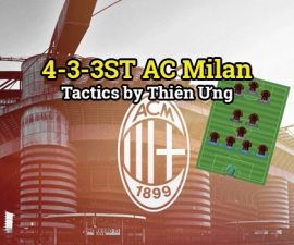Chiến thuật 4-3-3ST AC Milan - Tactic by Thien Ung