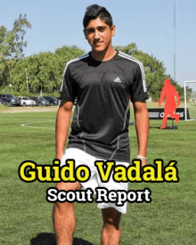 Guido Vadalá - FM15 Scout Report