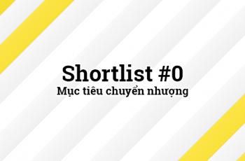 Shortlist 1 - Mục tiêu chuyển nhượng