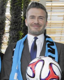 David Beckham đang tiến gần hơn tới giấc mơ sở hữu Major League Soccer