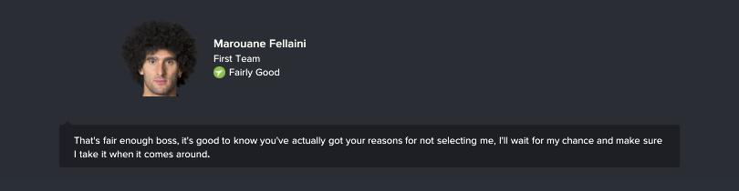 Cầu thủ muốn nói chuyện vì ít được ra sân thi đấu